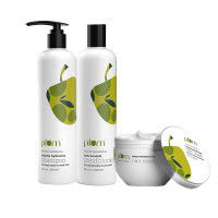 Plum Olive & Macadamia Expert Care Trio For Chemically Treated Hair
