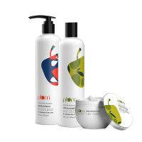 Plum Hibiscus & Rosemary Gentle Defence Trio For Dandruff-Prone Hair