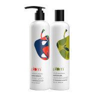 Plum Hibiscus & Rosemary Shampoo & Conditioner For Dandruff-Prone Hair