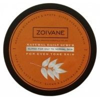 Zoivane Men Natural Daily Scrub For Even Tone Skin (Oily To Normal Skin)