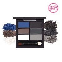Nykaa Just Wink It! - Wet & Dry Eyeshadow Palette - Smokin' Hot 01