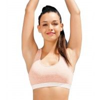 Enamor Wirefree Non-Padded Sports Bra - Pink