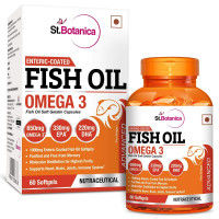 St.Botanica Enteric Coated Fish Oil 60 Softgels