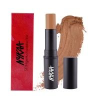 Nykaa SKINgenius Foundation Stick Conceal Contour & Corrector - Toffee Chisel 07