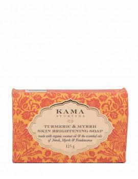 Kama Ayurveda Turmeric & Myrrh Skin Brightening Soap