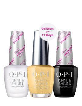 O.P.I Infinite Shine 3 Step Set - Enter The Golden Era