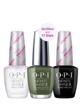 O.P.I Infinite Shine 3 Step Set - Olive For Green