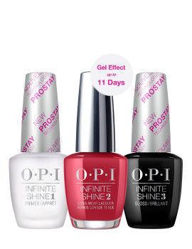 O.P.I Infinite Shine 3 Step Set - Relentless Ruby