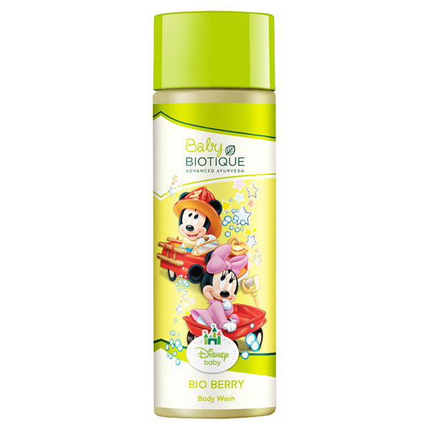 Biotique Disney Baby Boy Bio Berry Body Wash, 190 ML
