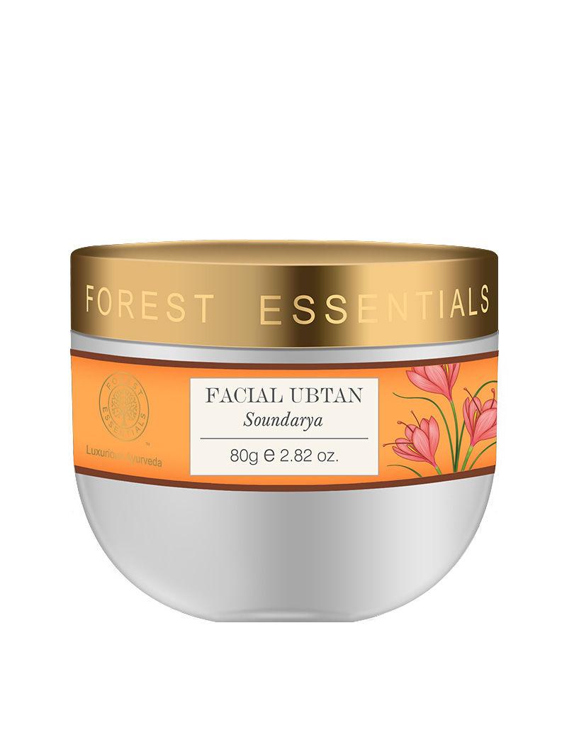 Forest Essentials Facial Ubtan Soundarya 80gm At Nykaacom