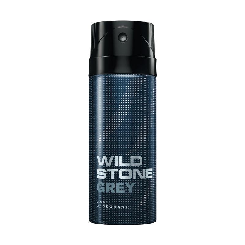 Wild Stone Grey Body Deodorant For Men 150 ml