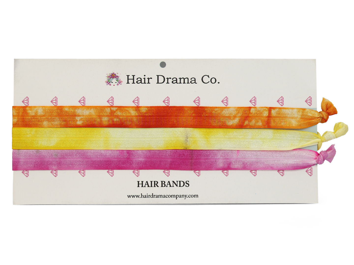 Hair Drama Company Natural Tie Dye Knotted Headbands