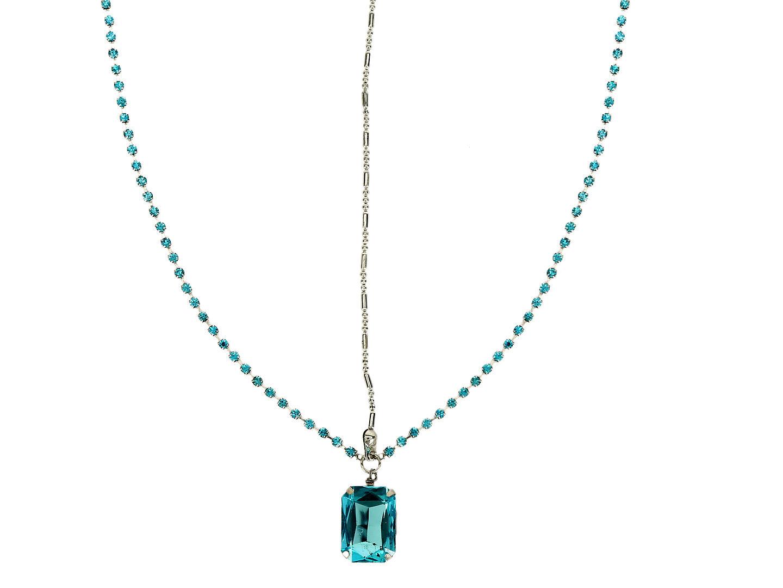 Hair Drama Company Princess Head Chain - Turquoise
