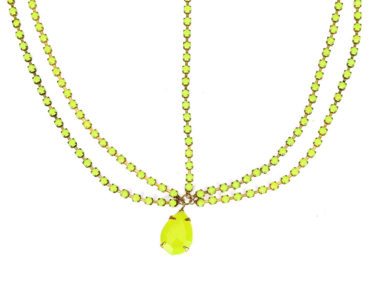 Hair Drama Company Princess Head Chain - Yellow