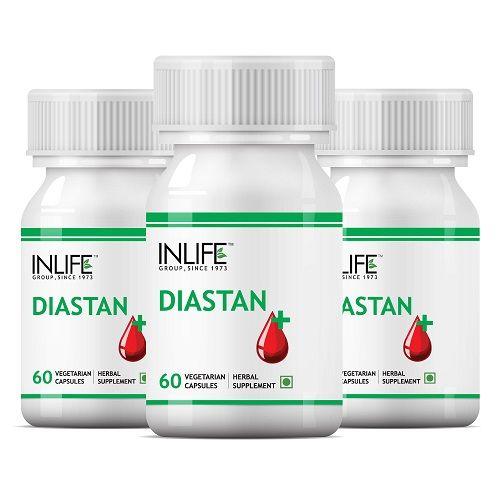 INLIFE Diastan Capsules For Diabetic Care Sugar Balance Pack Of 3