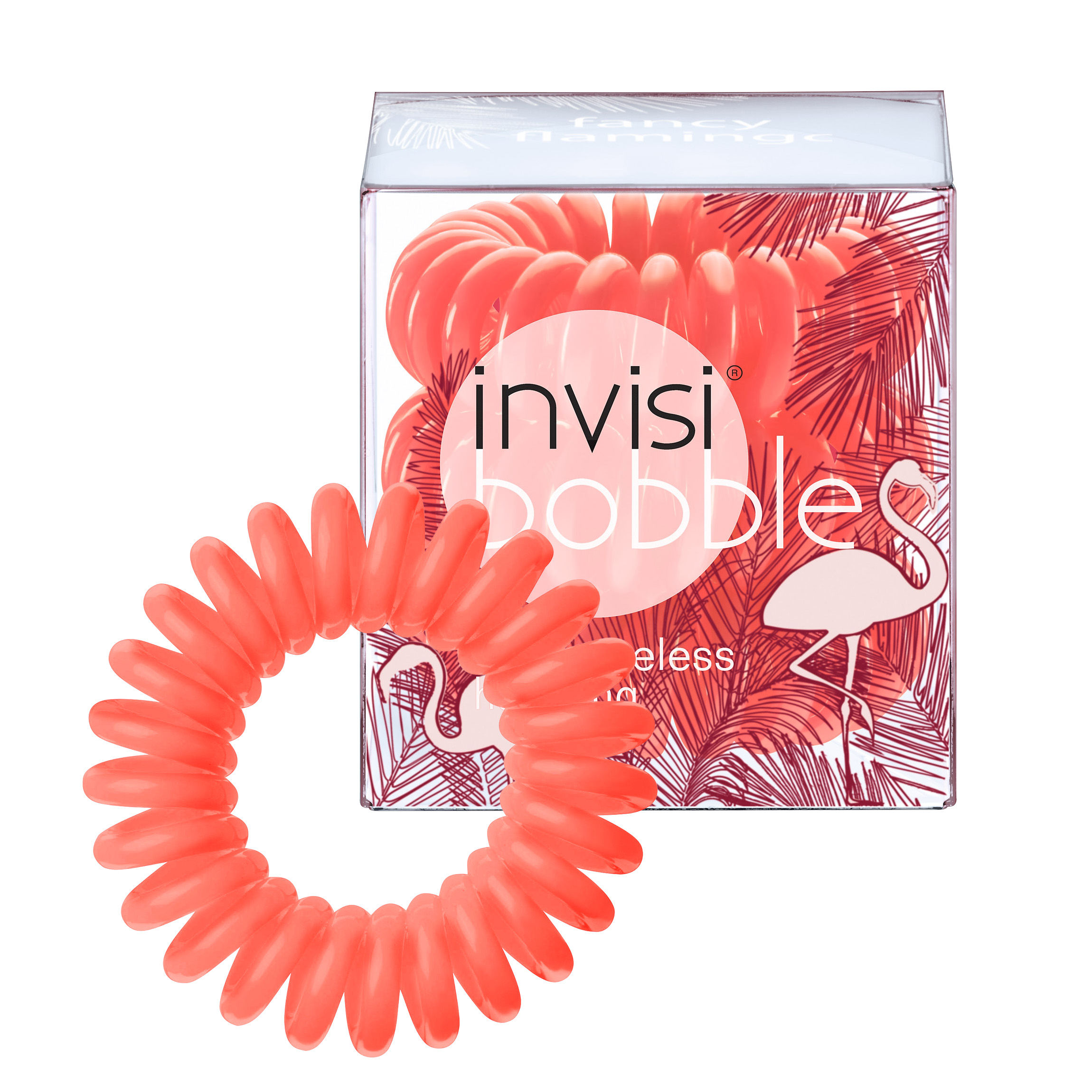 Invisibobble Hair Ring - Fancy Flamingo - Pack Of 3