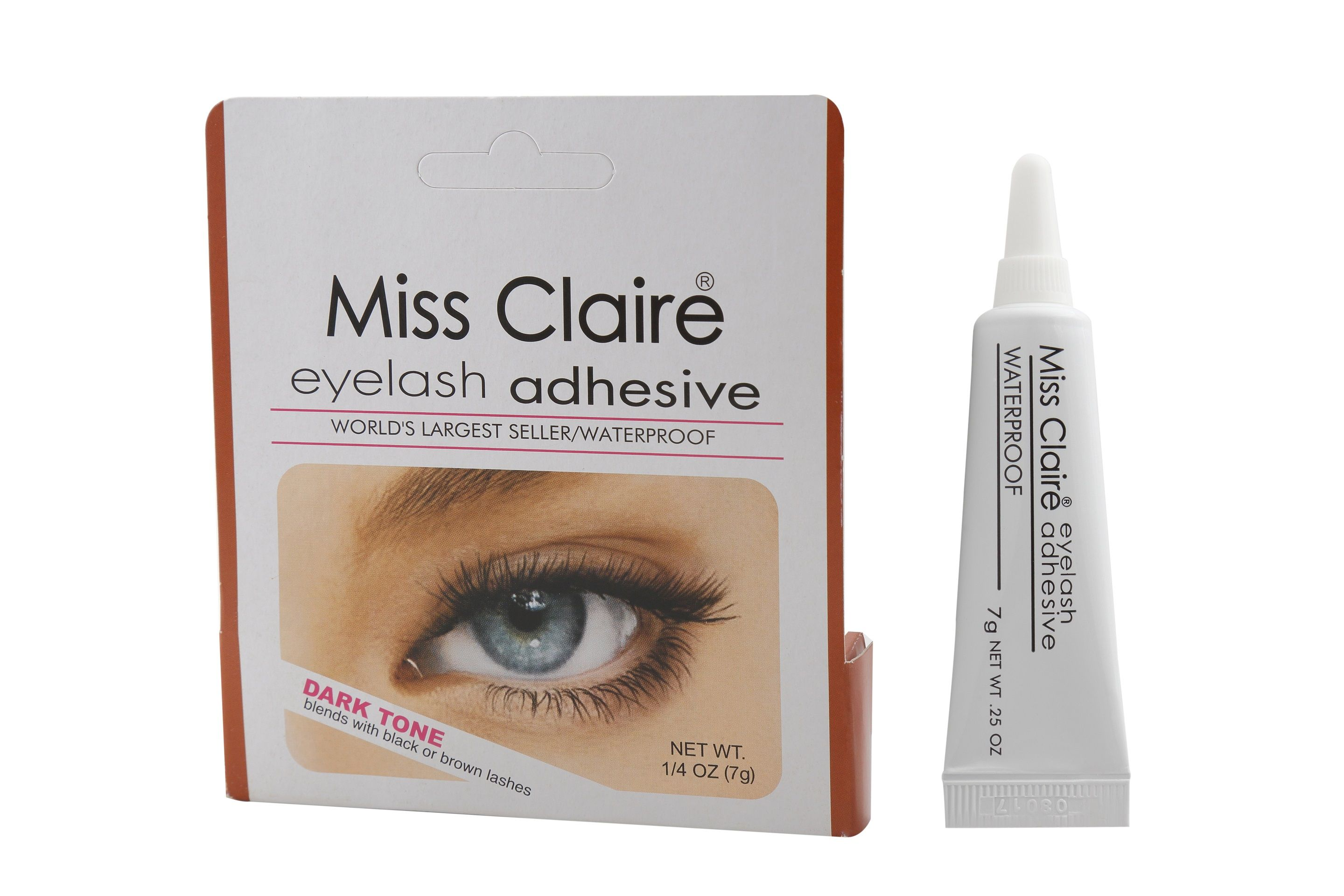 c62296e48dd Miss Claire Eyelash Glue Adhesive Dark Tone at Nykaa.com