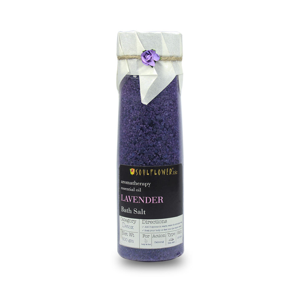 Soulflower Bath Salt - Lavender