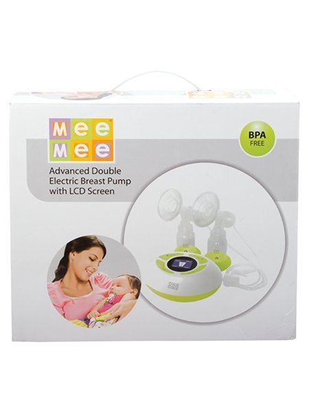 Mee Mee Advanced Double Electric Breast Pump With LCD Screen