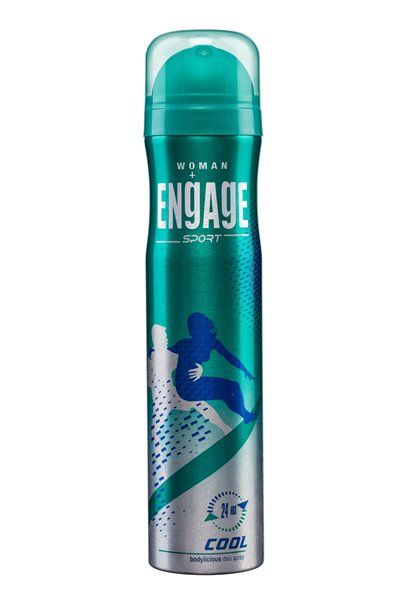 Engage Sport Cool Deo Spray For Women 150 ml