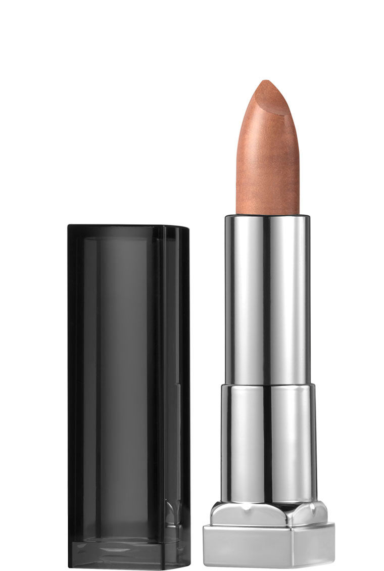 Maybelline Color Sensational Matte Metallic Lipstick White Gold