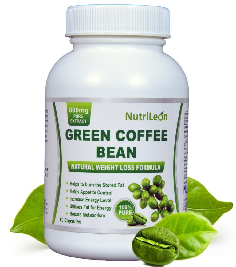 NutriLeon Green Coffee Bean Pure Extract 800mg Capsules