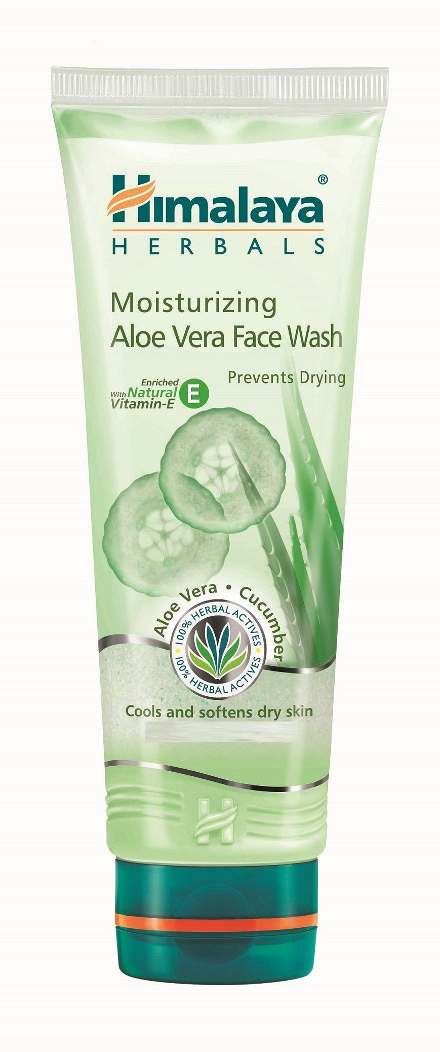 Himalaya Herbals Moisturizing Aloe Vera Face Wash 100ml
