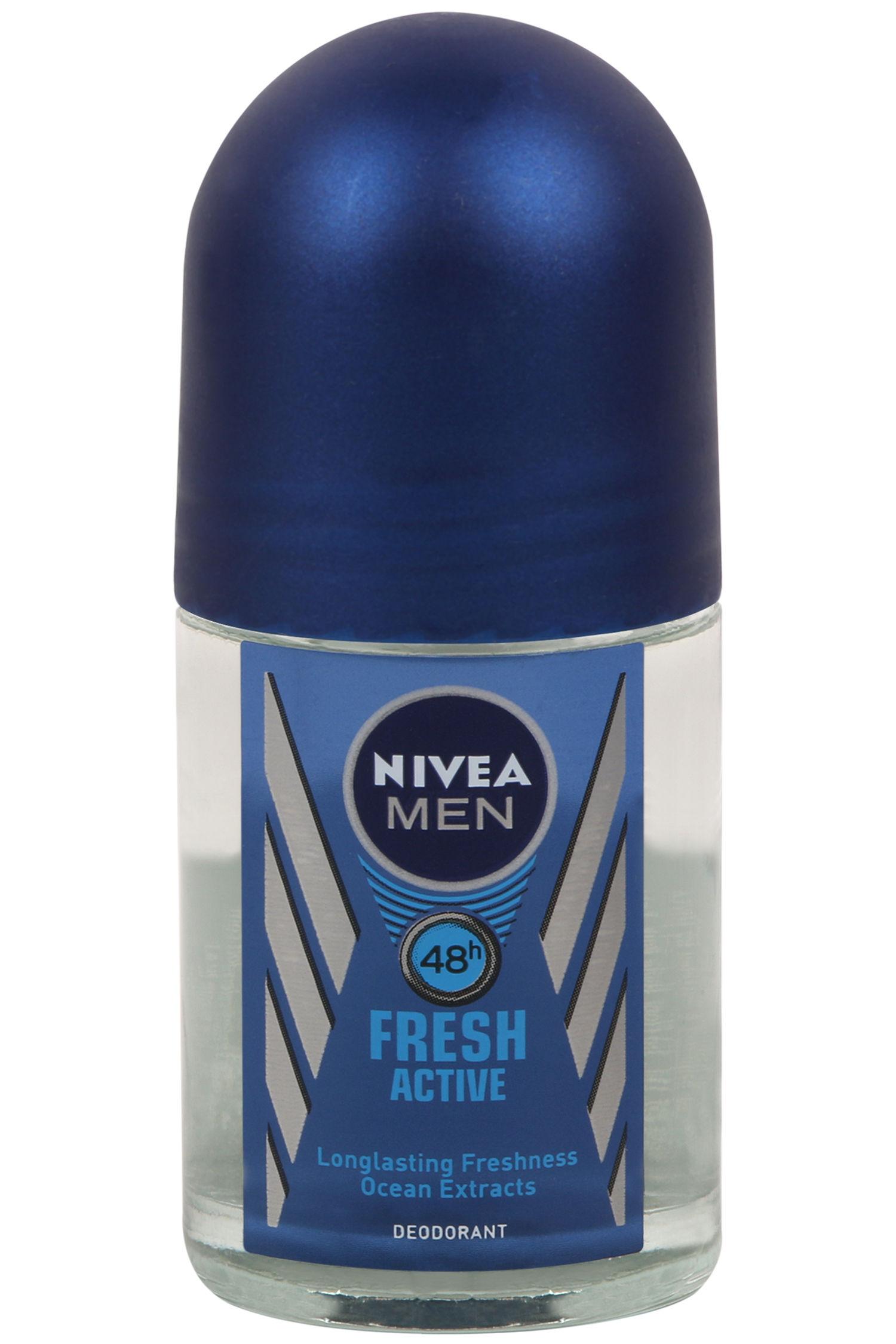 Nivea Fresh Active Deodorant Roll On For Men