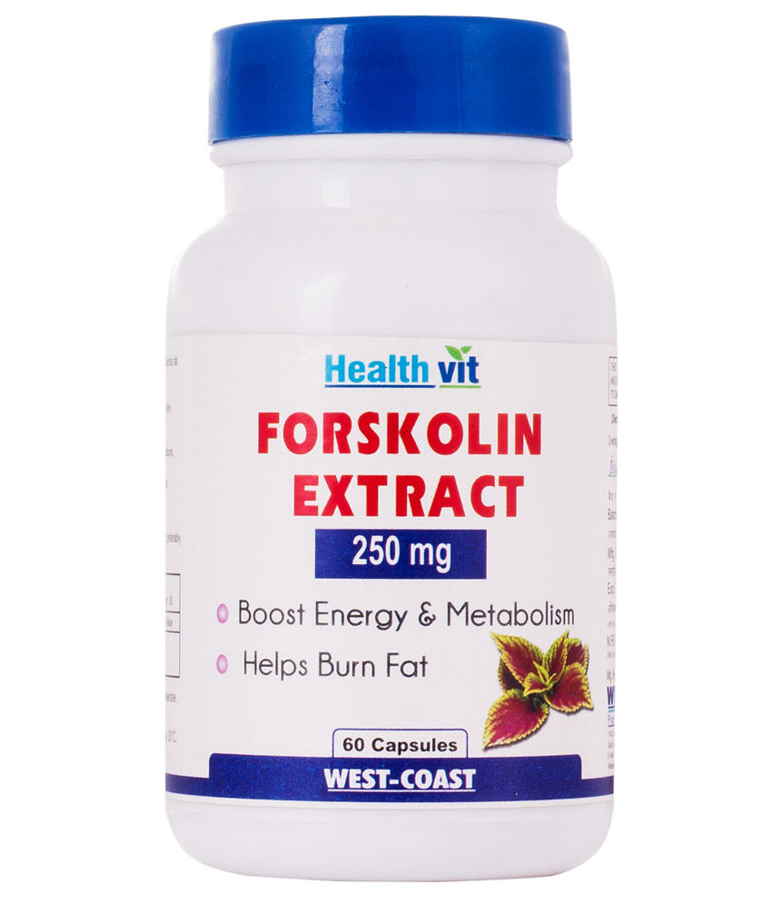 Healthvit Forskolin Extract 250 mg Supplements (60 Capsules)