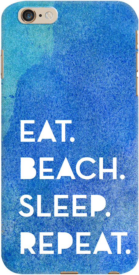 DailyObjects Eat Beach Sleep Repeat Water Case For iPhone 6 Plus/6s Plus