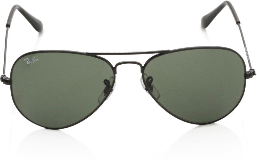 Ray-Ban Green Aviator Sunglasses - RB3025 0025 55-14