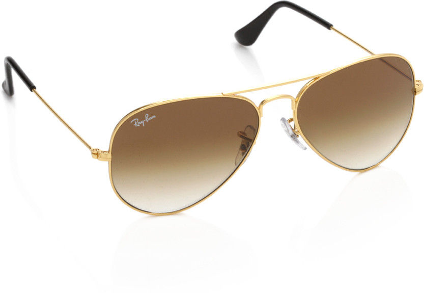 Ray-Ban Aviator Sunglasses - RB3025-001-51