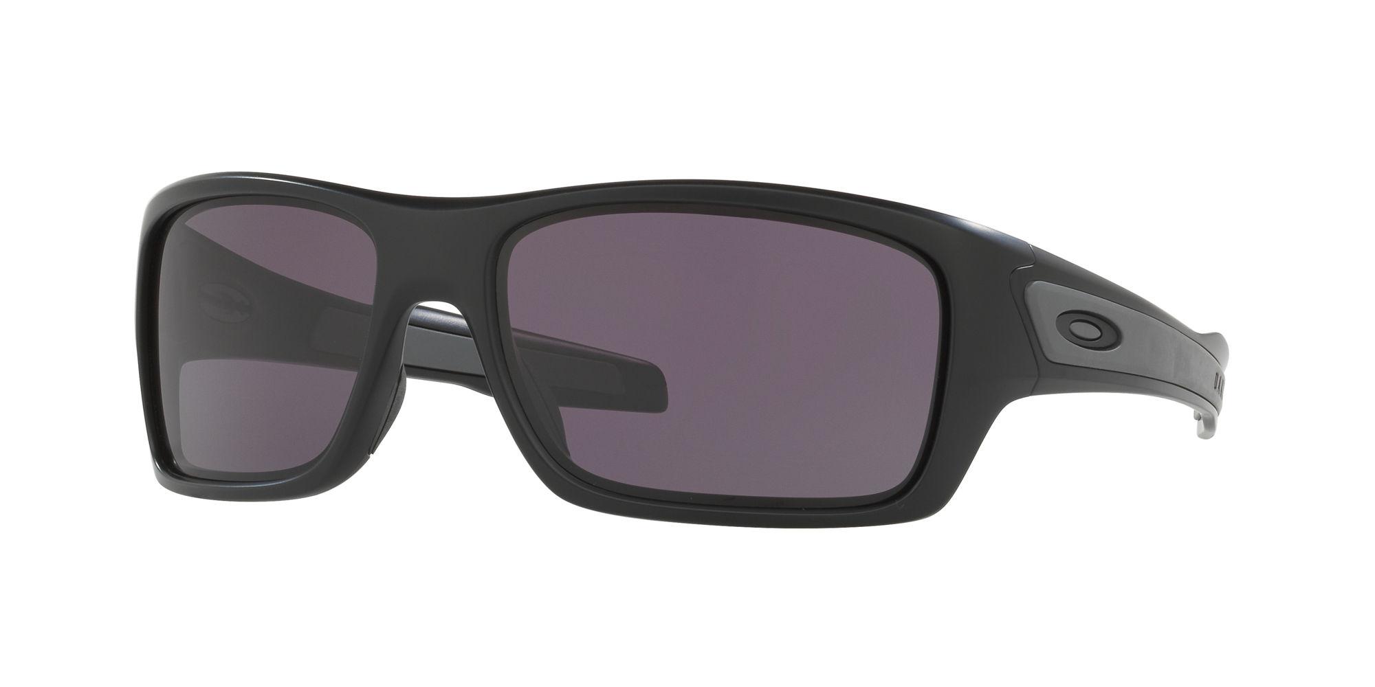 Oakley Grey Wrap Around Sunglasses - OO9263_01_65-17