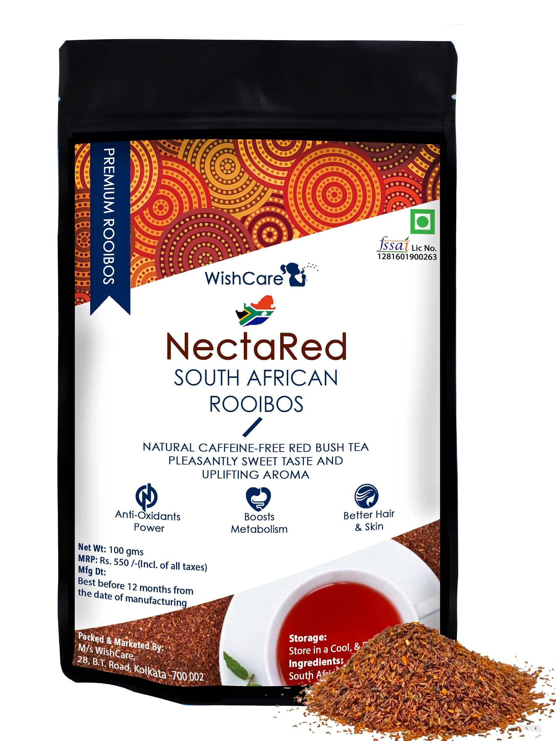 Nectared South African Rooibos Loose Red Tea