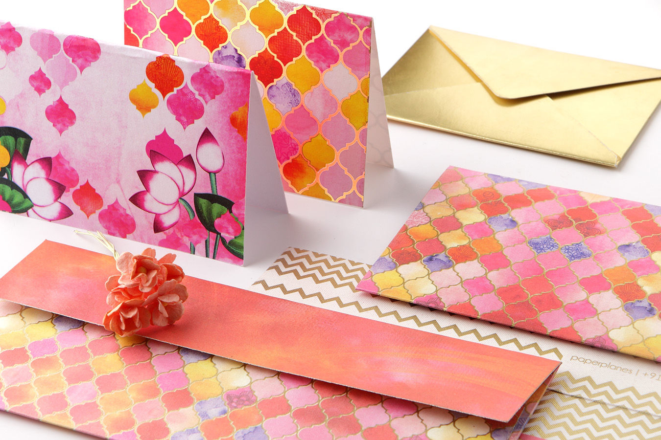 PaperPlanes Hues Of Heritage Personal Stationery Set