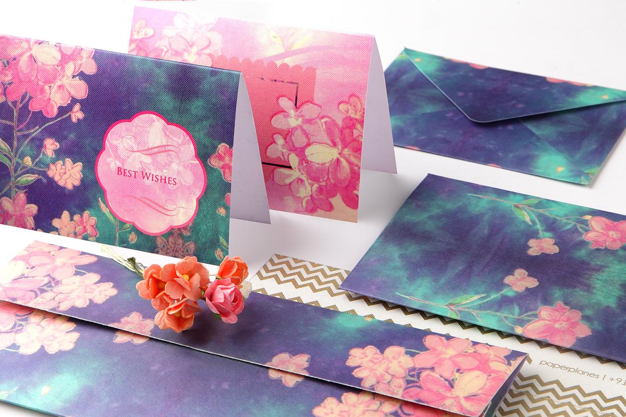 PaperPlanes Midnight Garden Personal Stationery Set