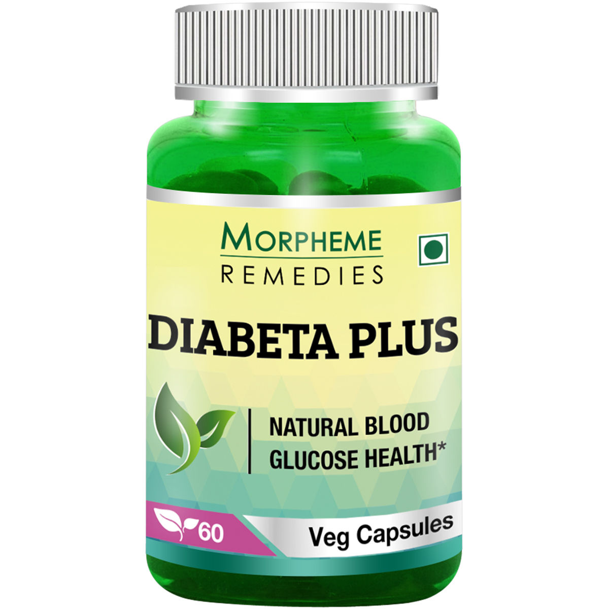 Morpheme Remedies Diabeta Plus Natural Blood Glucose Health - 500mg Extract