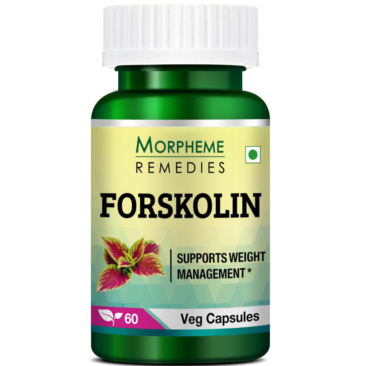 Morpheme Remedies Forskolin - Pure Coleus Forskohlii For Weight Loss & Energy - 500mg Extract