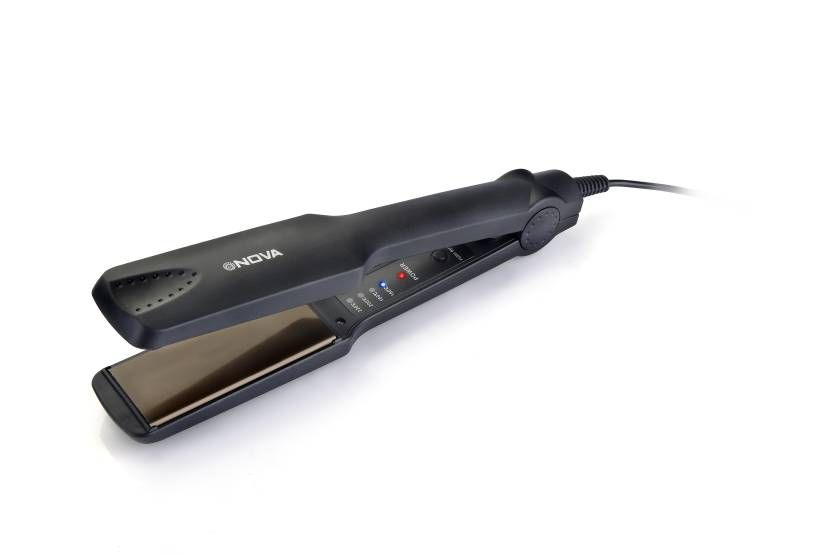 Nova Temperature Control Professional NHS 860 Hair Straightener (Black)