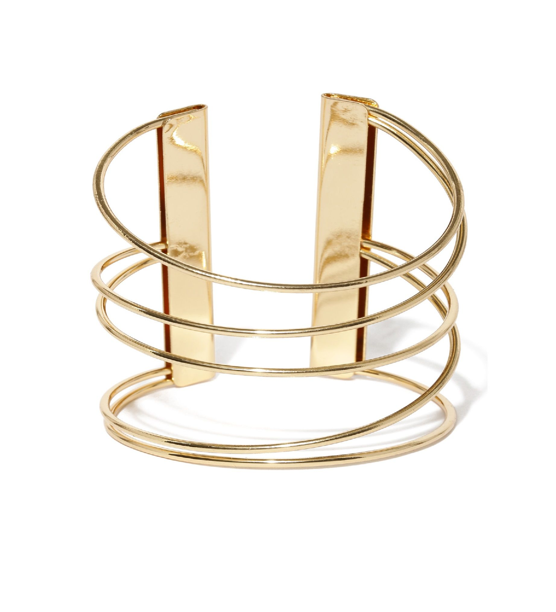 Toniq Gold Swirl Cuff