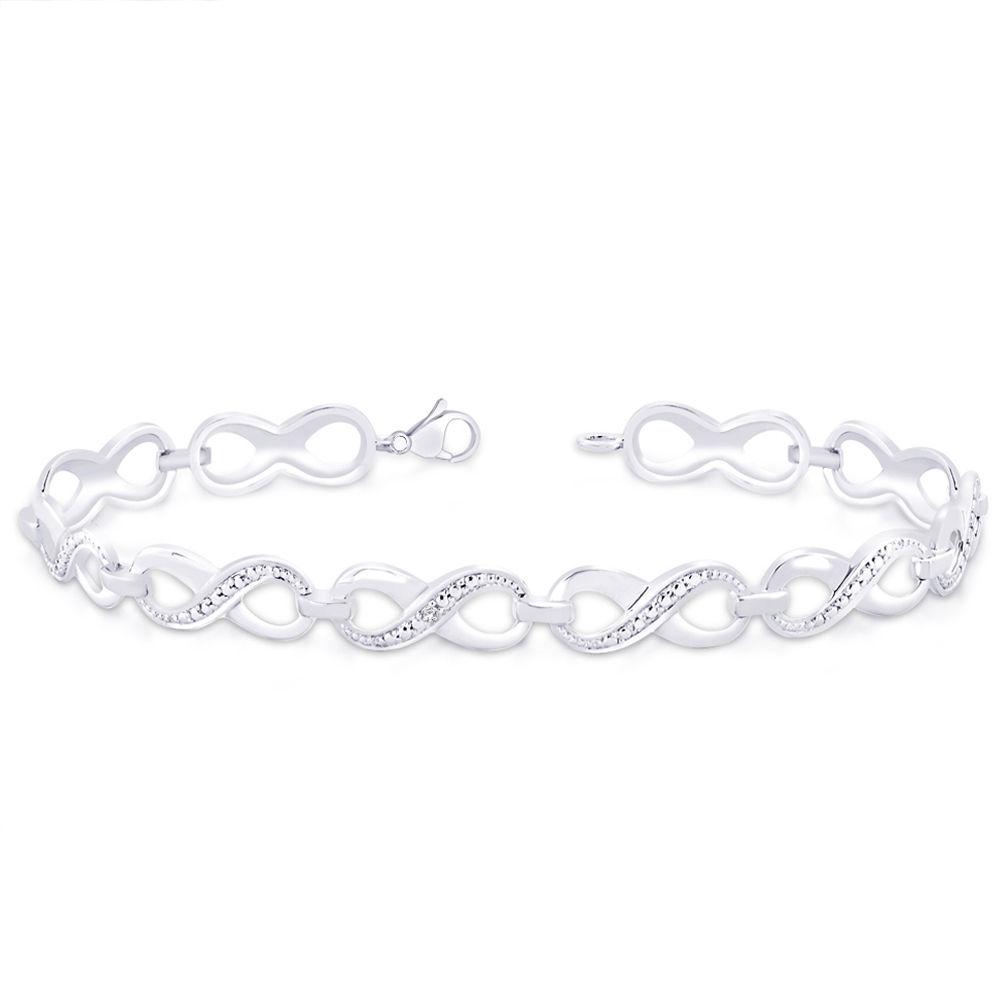 Peora Infinity Loop Bracelet