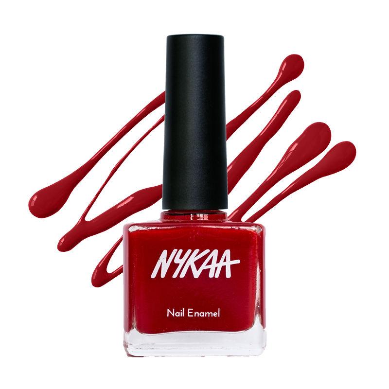 Nykaa Nail Enamel - Red Velvet 03