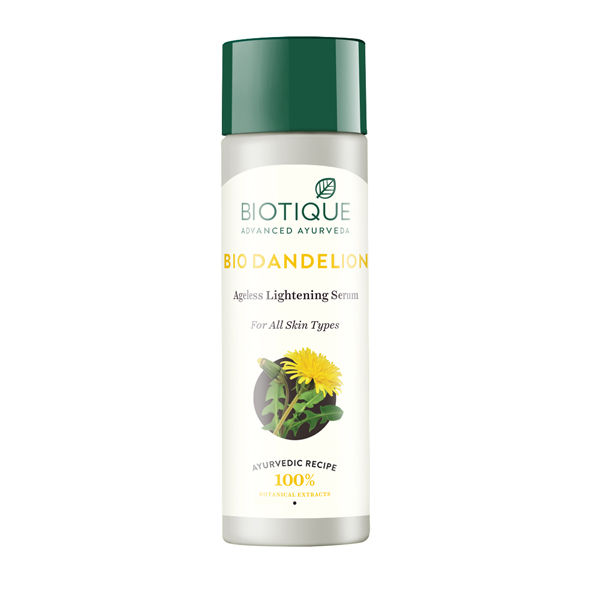 Biotique Bio Dandelion Ageless Lightening Serum 190ml