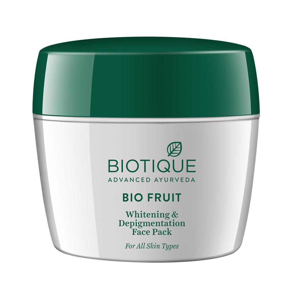 Biotique Bio Fruit Whitening & Depigmentation Face Pack, 235gm