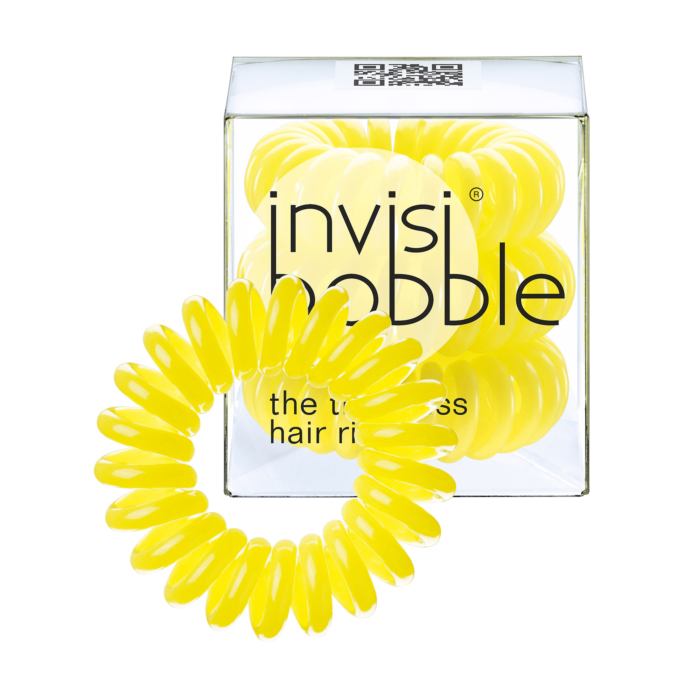 Invisibobble Hair Ring - Submarine Yellow - Pack Of 3