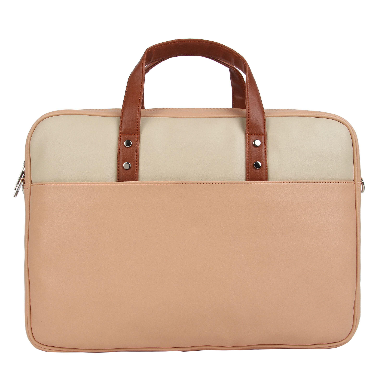 Toteteca Colorblock Laptop Bag - Pink