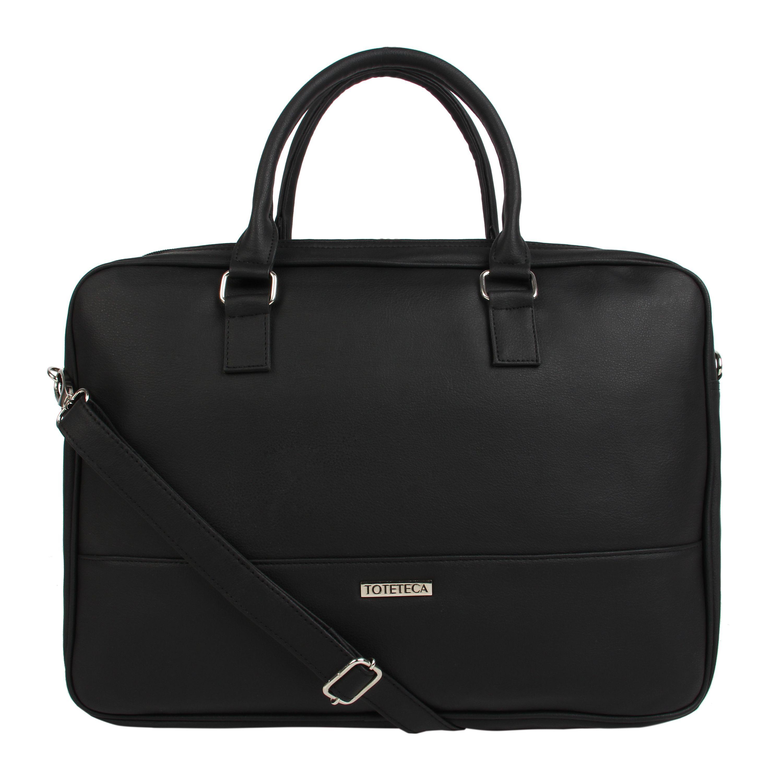 Toteteca Simple Laptop Bag - Black