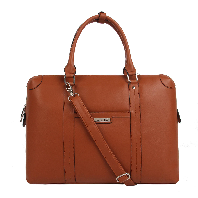 Toteteca Office Laptop Bag - Brown