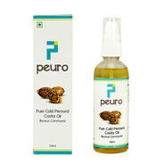 Peuro Pure Cold Pressed Castor Oil (Ricinus Communis)
