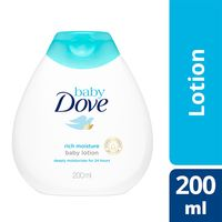 Dove Baby Lotion Rich Moisture (200ml)